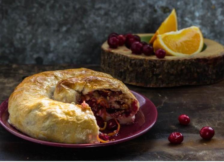 Cranberry Yeast Pie