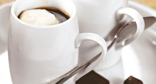 Coffee with Chocolate and Cream