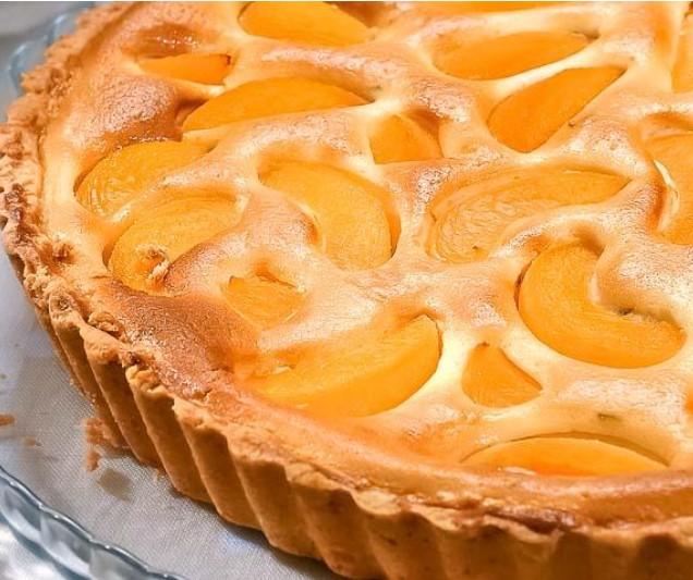 Peach Curd Pie