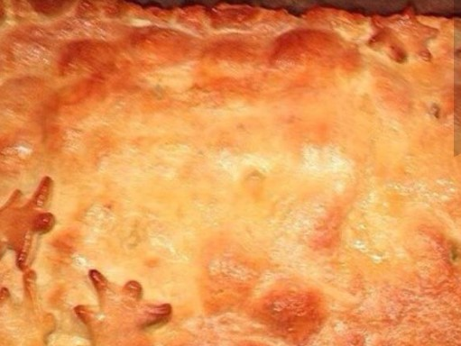 Chicken Puff Pastry Pie with Mashed Potatoes