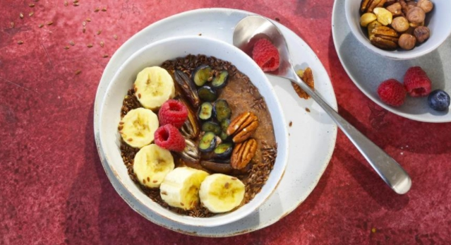 Warm Smoothie Bowl with Coconut Milk