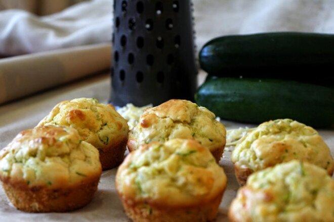 Zucchini Muffins With Nutmeg
