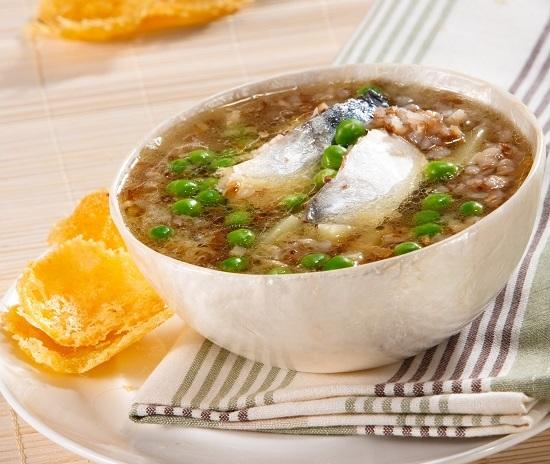 Mackerel fish soup. Perfect when boiled over a fire