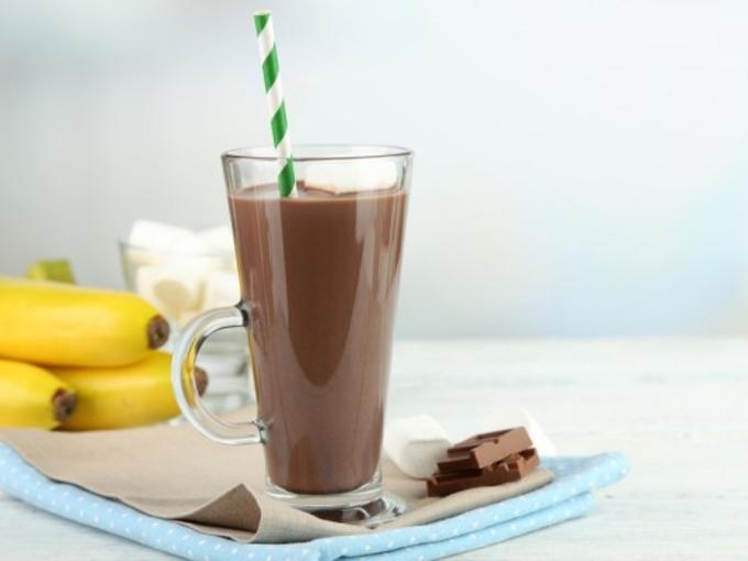 Coffee and banana cocoa