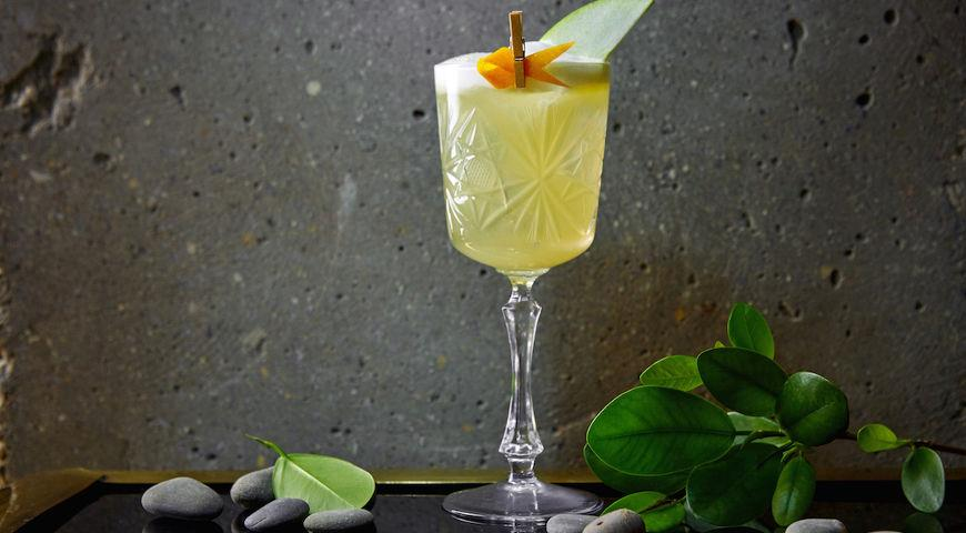 Agave Sour cocktail