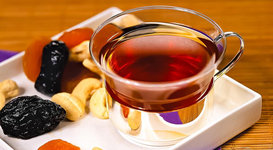 Prune tea