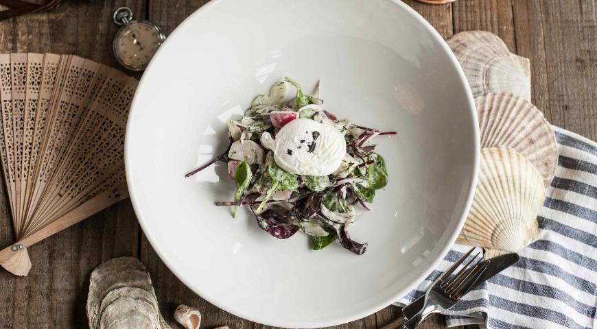 Burbot liver salad