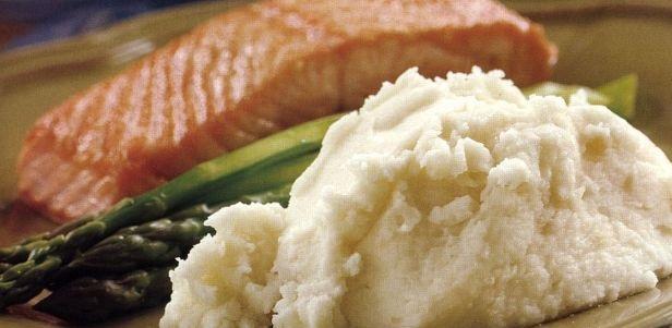 Fluffy mashed potatoes