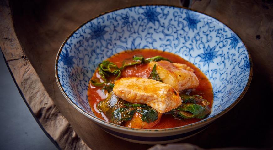 Fish tomato soup