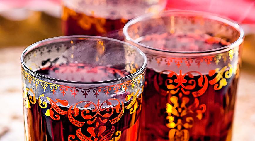 Hibiscus tea oriental