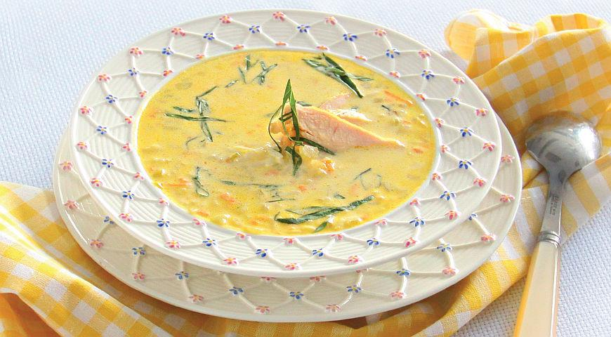 Delicate rice soup with chicken 2