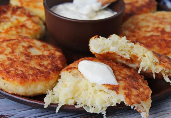 Potato, rice and cottage cheese cutlets
