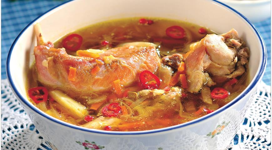 Rabbit Soup with Chestnuts