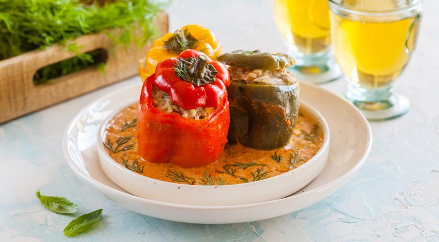 Stuffed peppers: a classic recipe