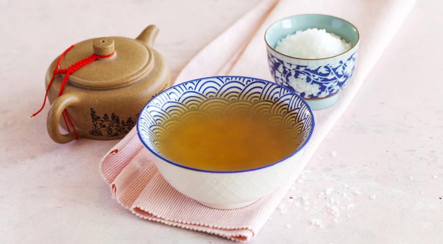 Korean rice tea