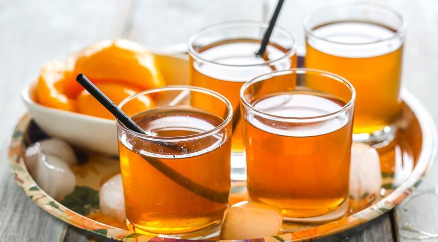 Vanilla jasmine iced tea