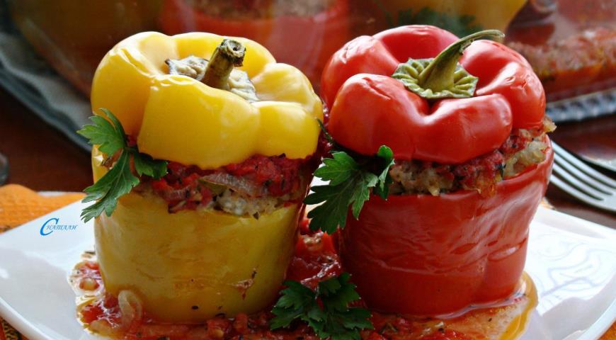 Baked bell pepper 2