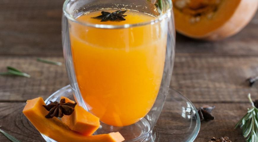 Pumpkin spiced tea