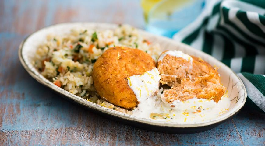 Fresh and smoked fish cutlets