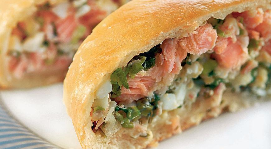 Scandinavian fish pie with smoked pink salmon