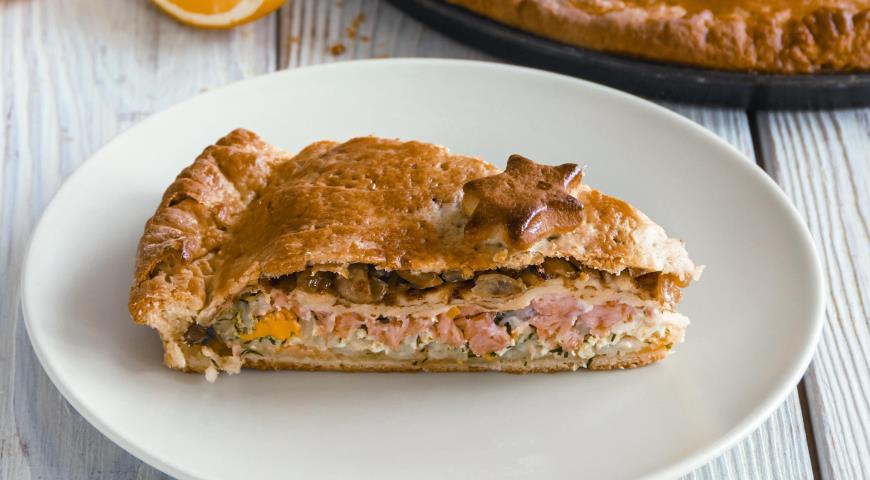 Ceremonial fish pie