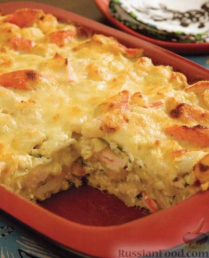 Lasagne with seafood super
