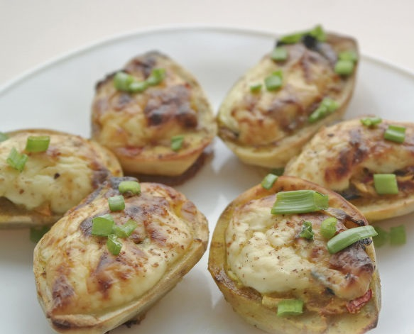 Italian Stuffed Potatoes