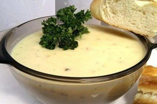 Spicy Creamy Garlic Soup