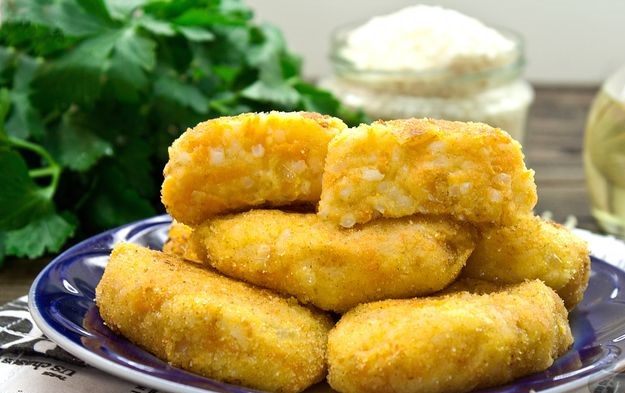 Lean rice and potato cutlets