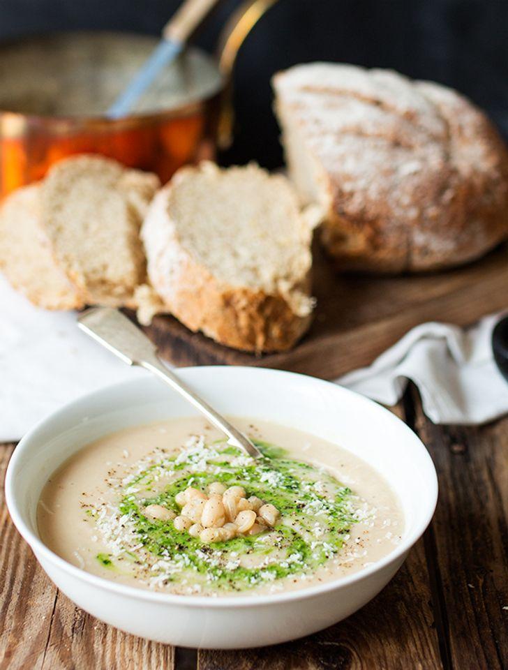 Italian creamy soup