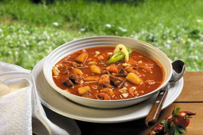 Bograch - thick Hungarian soup