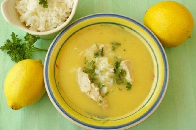 Classic Greek soup