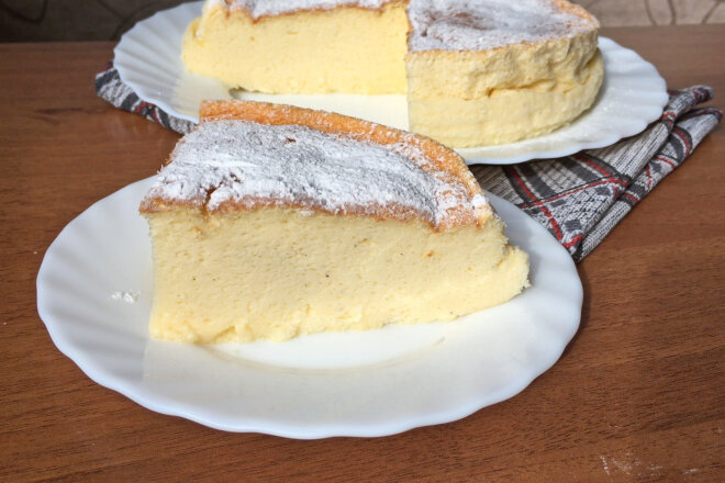 Yoghurt Cake without Flour and Butter