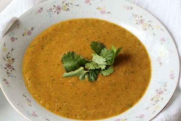 Vegan keto gazpacho