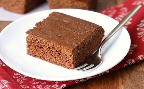 Gingerbread keto cake