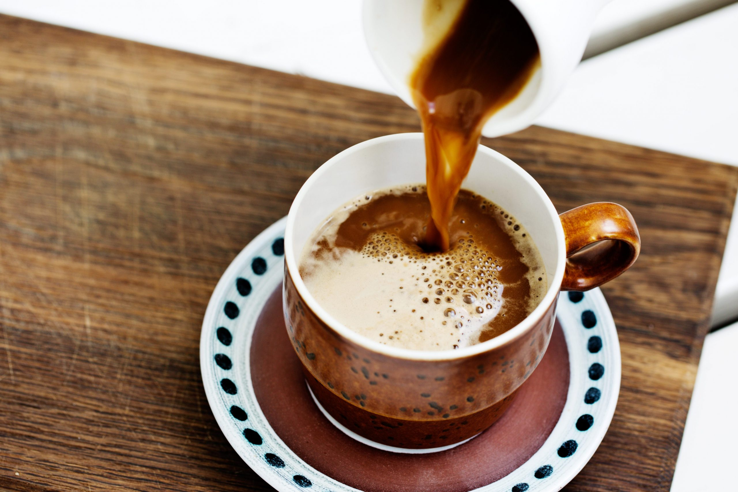 Keto coffee with butter