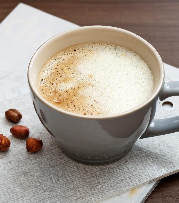 Keto coffee with cream