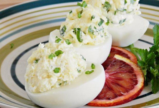 Egg snack