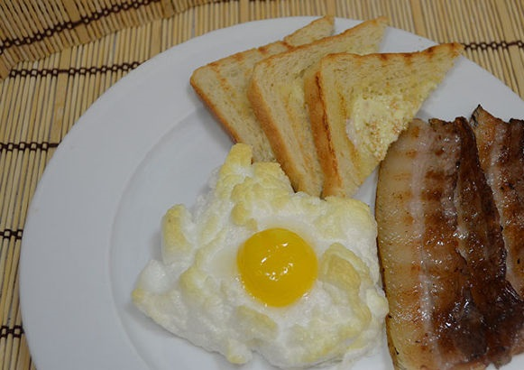 Eggs in the clouds