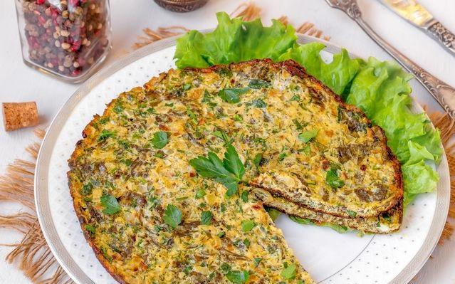 Sorrel omelet