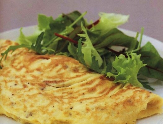Very chic omelet