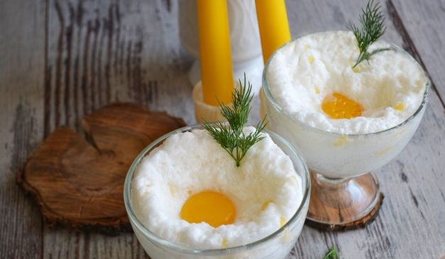 Orsini eggs with cheese (microwave)