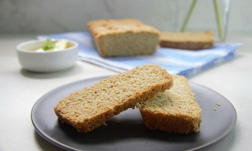 Flaxseed keto bread
