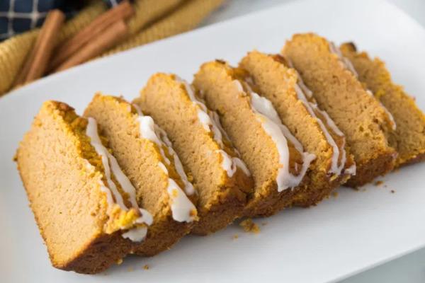 Pumpkin keto bread