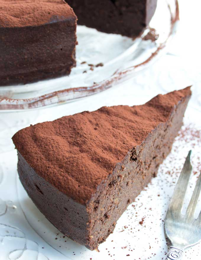 Chocolate keto pie