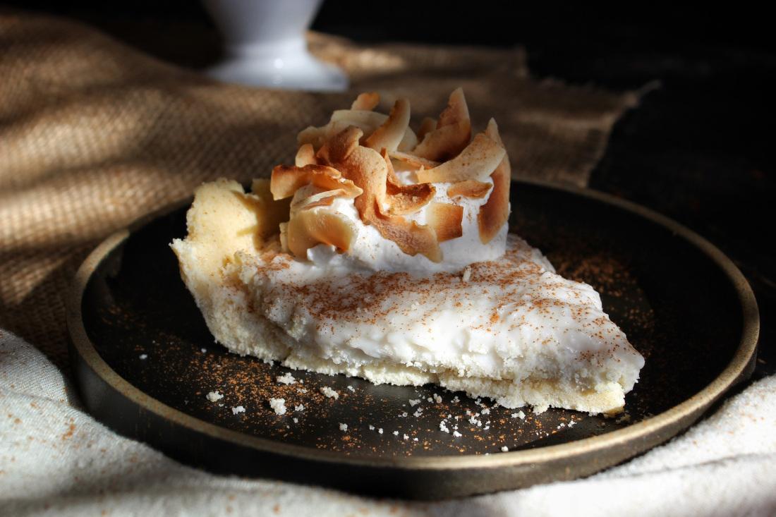 Keto Coconut Cream Pie without Eggs