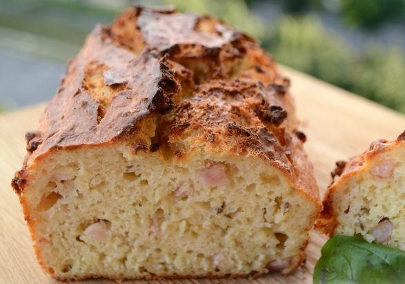 Best Shepherd's bread with ham and potatoes