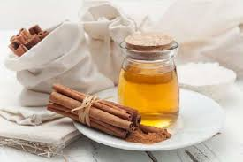 Vitamin drink with honey and cinnamon