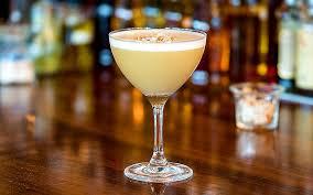 Hokkaido Milk Punch Cocktail