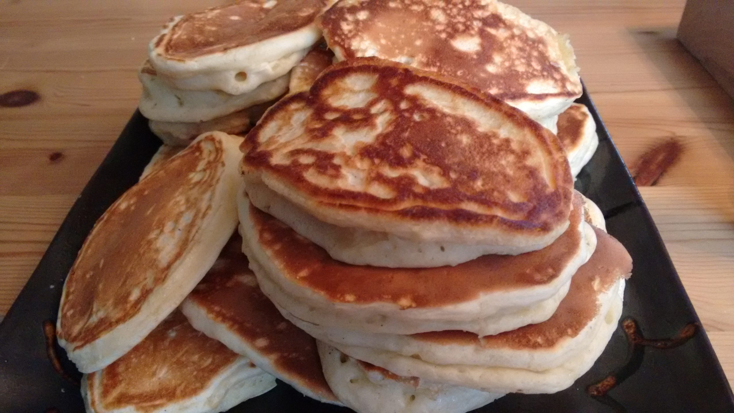 Keto pancakes with kefir